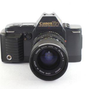 Canon T-70 + Canon FD 35-70mm f/4,0