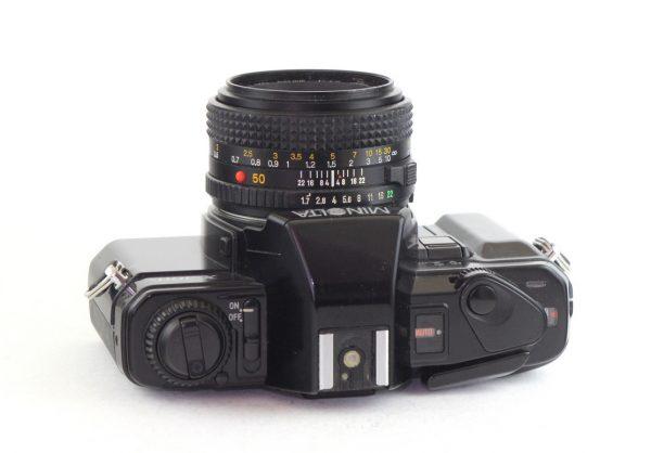 Minolta X300s + Minolta 50mm f/1.7