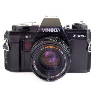 Minolta X300s + Minolta MD Rokkor-X 50mm f/1.7