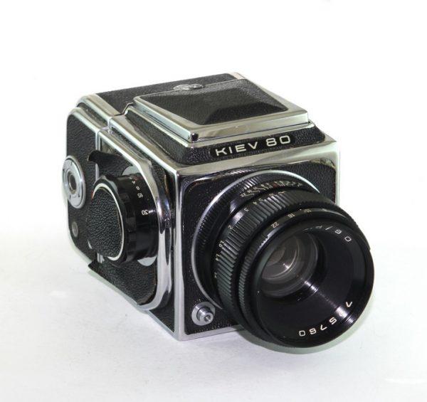 Kiev 80 + Vega 12B 90mm f/2,8
