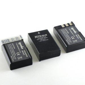Nikon EN EL9 original + 2x zamenska baterija