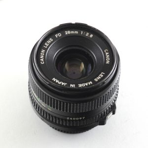 Canon FD 28mm f/2,8