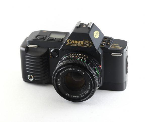 Canon T70 + FD 50mm f/1,8