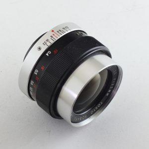 Topcon UV Topcor 35mm f/3.5 Lens Tokio Kogaku Japan
