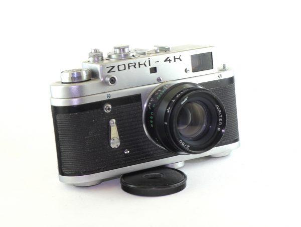 Zorki 4K + Jupiter 8 50mm f/2 Vintage SSSR Film Camera