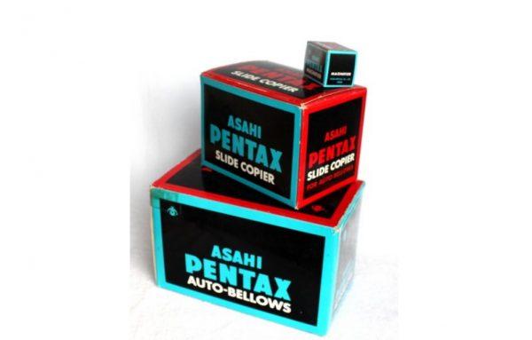 Asahi Pentax Auto Bellows + Slide copier + Magnifier (Kao novo - nekorišćeno)
