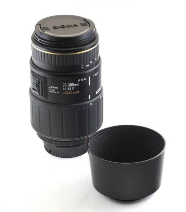 Sigma 70-30mm f4.0-5.6 APO Macro - 5