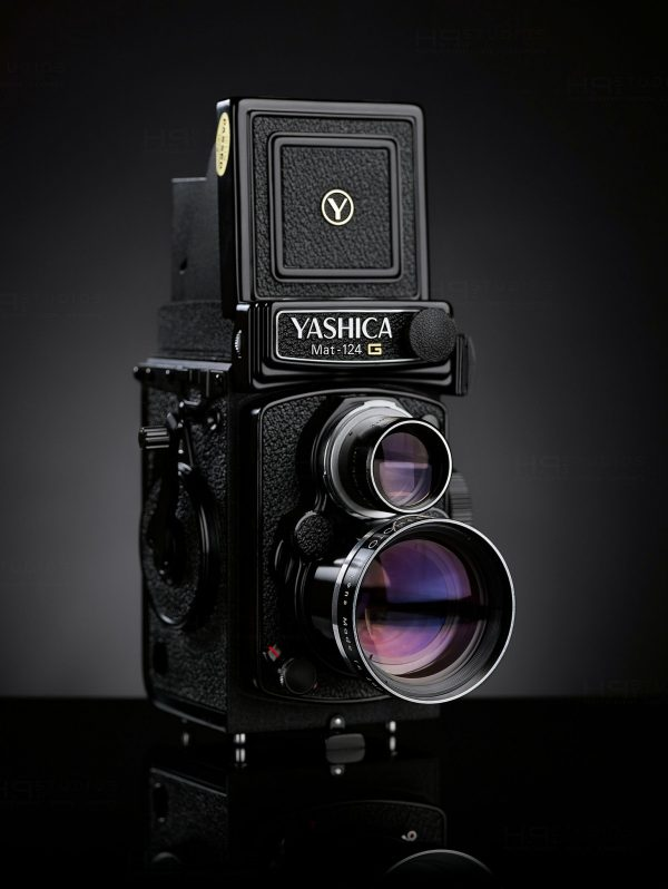 Yashica Yashinon Wideangle Lens with viewfinder for 124G