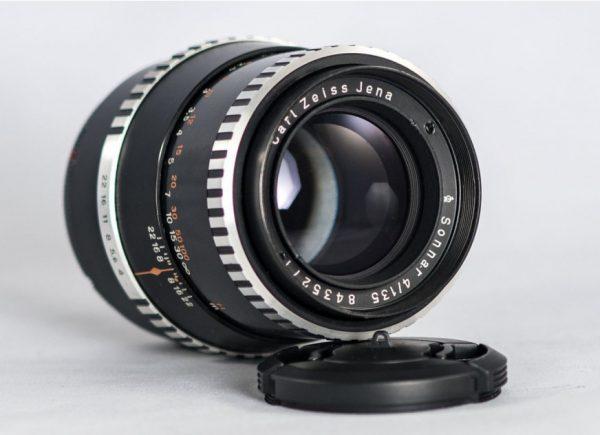 Carl Zeiss Jena Sonnar f/4 135mm EXA