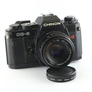 Chinon CG-5 + Auto Chinon 50mm f/1,9 PK