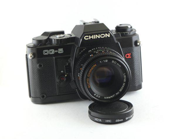 Chinon CG-5 + Auto Chinon 50mm f/1,9 PK