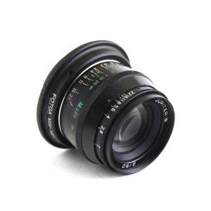Perfektno stanje Stakla čista Blenda suva Prsten za izoštravanje klizi glatko Prsten blende precizan Apsolutno ispravan M39 mount na objektivu Adapter Fotga M39 - Sony e-mount
