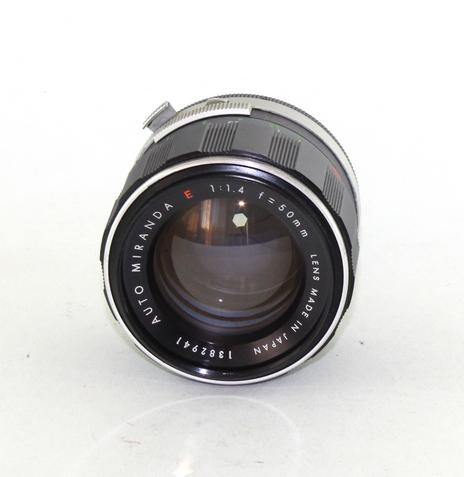 Miranda 50mm f/1.4 EE