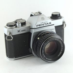 Pentax K1000 + Pentax 55mm - 1 1