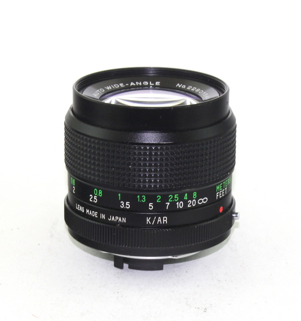 Vivitar 28mm f2.0 KR - 1 1