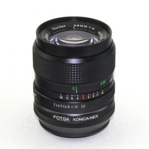 Vivitar 28mm f/2.0 KR