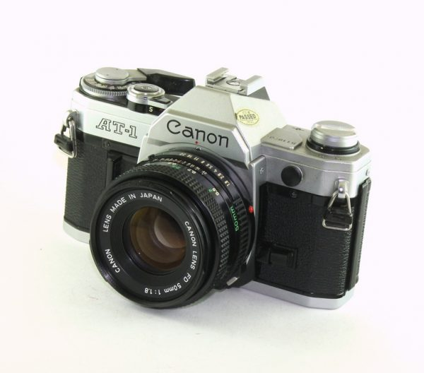 Canon AT-1 + 50mm f/1.8 FD