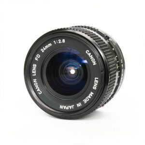 Canon FD 28mm f/2.8 New