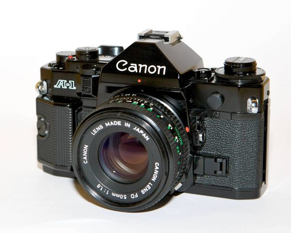 Canon A-1 50mm f1.8 FD New