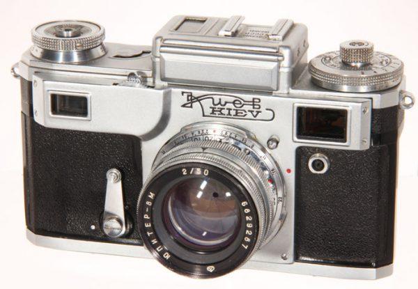 Kiev 4 Jupiter 50mm f2.0 5