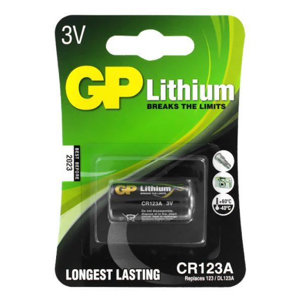 Lithium Baterija CR 123A 3V