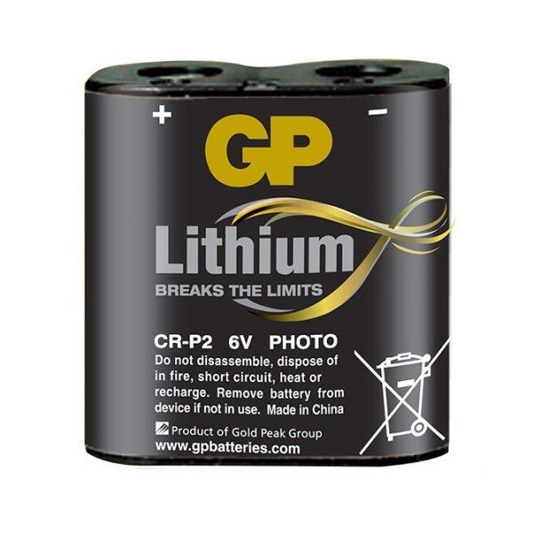 Lithium Baterija CR-P2 6V