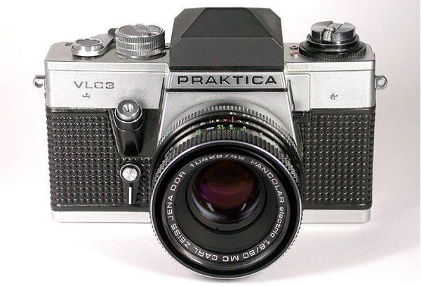 Praktica VLC 3 Pentacon MC 50mm f1,8 M42