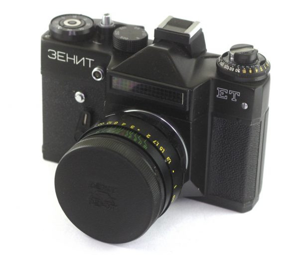 Zenit ET + Helios 44-2 58mm f/2,0 M42 (Crno telo) RETKO