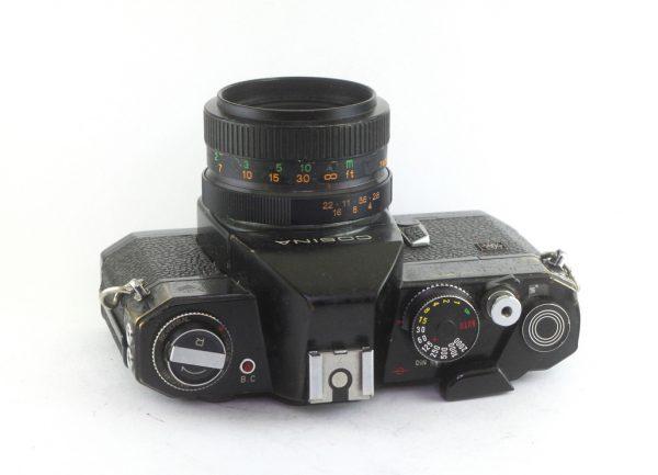 Cosina Hi Lite EC + Exaktar 55mm f/2,8 M42