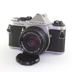 Pentax ME Super + Pentax SMC M 50mm f/2.0 PK