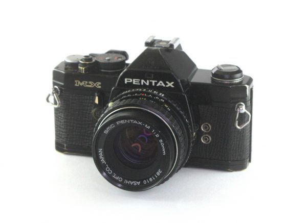 Pentax MX + Pentax SMC M 50mm f/2.0 PK