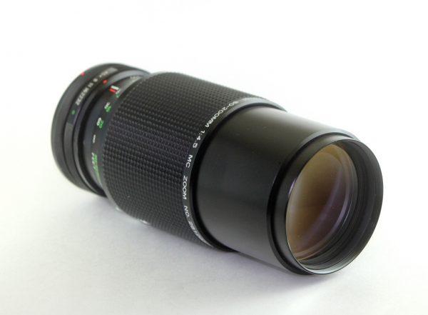 Vivitar 80-200mm f/4.5 MC Canon FD