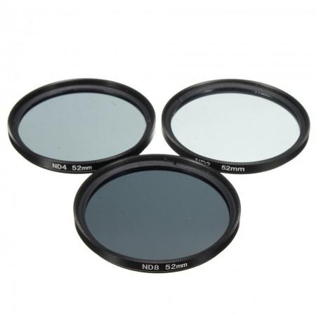 ND filter ND 2, 4, 8, 49, 52, 55, 58, 62, 67, 72, 77mm - Novo!
