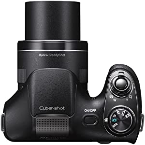 Sony Cyber Shot DSC-H300B - Crni
