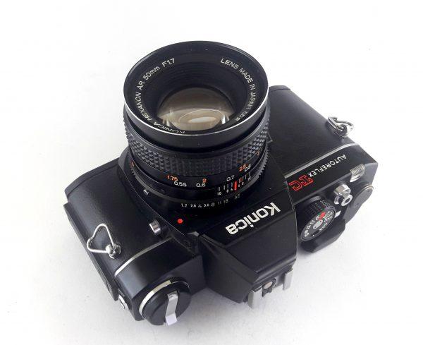 Konica Autoreflex TC / Hexanon AR 50mm f/1,7