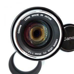 Canon FD 55mm f/1.2 Chrome Nose