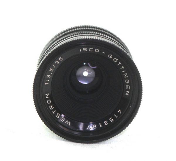 Isco Gottingen Westron 35mm f/3.5 M42