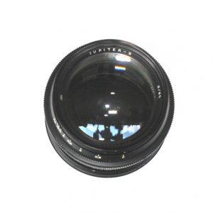 Jupiter 9 85mm f/2.0 Kiev / Contax Rangefinder Black
