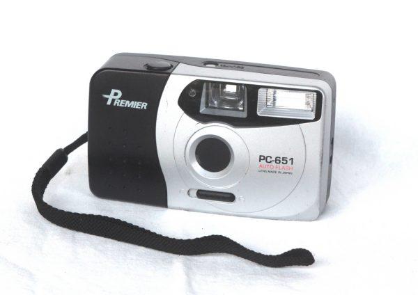 Premier PC-651 Auto Flash Film Camera