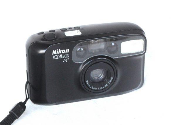 Nikon Zoom 200AF Compact Film Camera