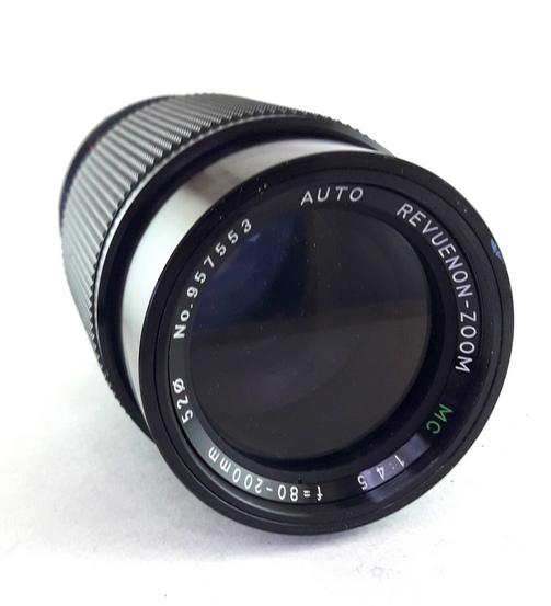 Auto Revuenon MC 80-200mm f/4.5 PK