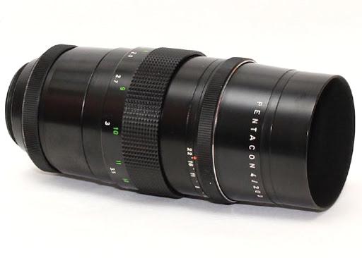 Pentacon 200mm f/4 M42 15 listića blende